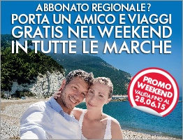 weekend Marche gratis