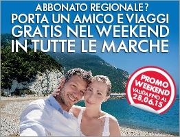 weekend Marche gratis