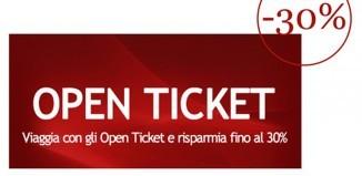 italo Treno open ticket