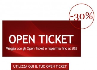 italo Treno open ticket