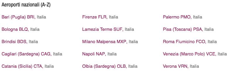 Aeroporti italiani - Eurowings